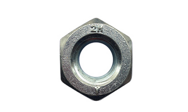 Carbon steel nut -2H