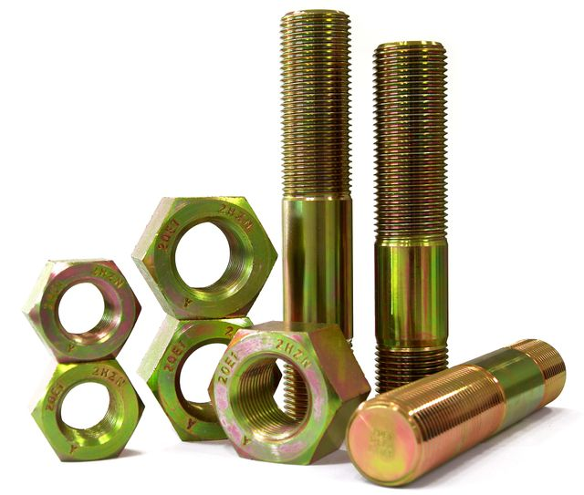 Diagram API 20E Screw production flow --20E1 -20E2 -20E3 Stud Nut